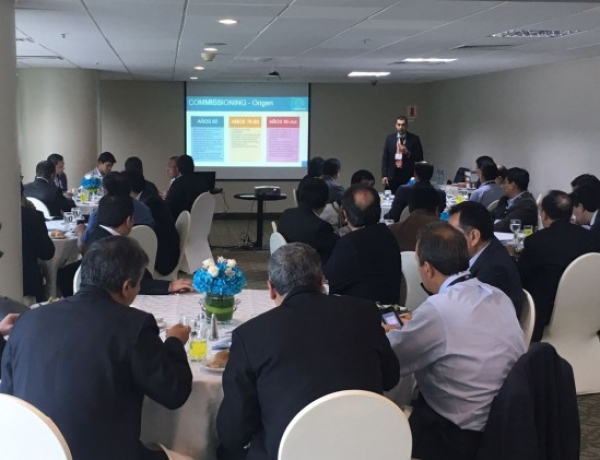 Successful attendance to the event organized by Commtech at the DCD Converged Peru 2017