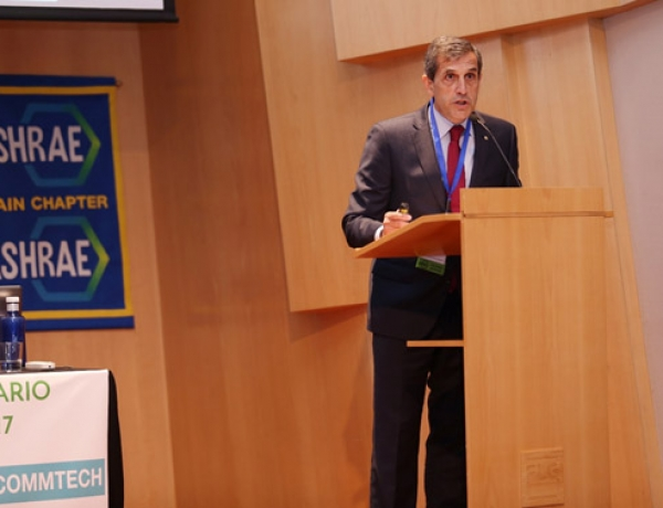 Andrés Sepúlveda – Reelected President of the ASHRAE Spain Chapter for a second consecutive year